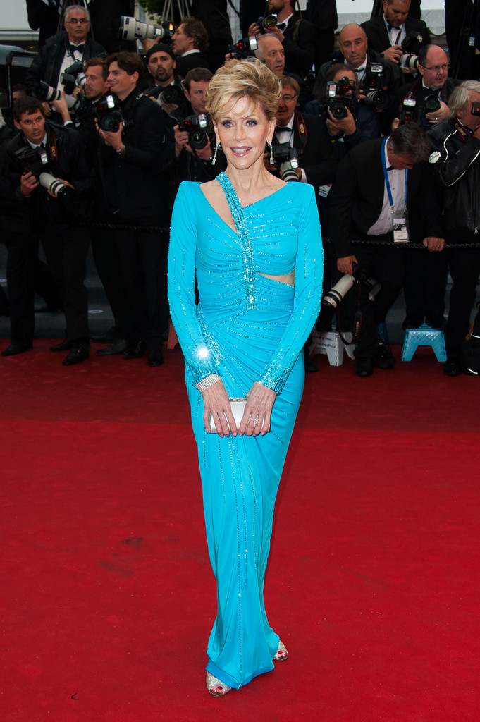 Jane Fonda - 'Jimmy P.' Premieres in Cannes