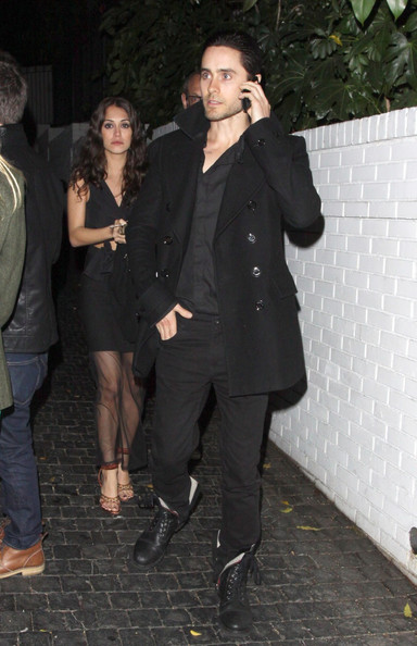 Jared Leto - Jared Leto and Kat Von D at Chateau Marmont