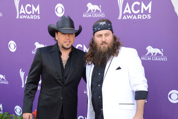 Jason Aldean Arrivals at the Academy of Country Music Awards 2
