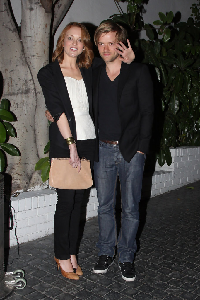 Jayma Mays and husband