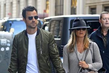 Jennifer Aniston Jennifer Aniston and Justin Theroux Together in NYC