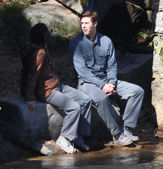 Hunger Games Mockingjay Movie Filming