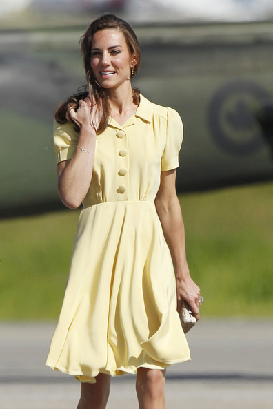 Prince William And Kate Middleton At Calgary International Airport 3