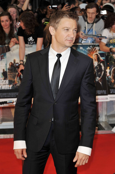... in this photo jeremy renner jeremy renner at the european premiere of
