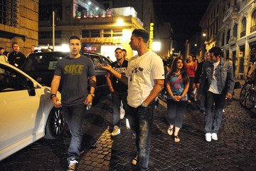 """Sammi Giancola  Ronnie Ortiz-Magro The """"Jersey Shore"""" Cast in Florence"""