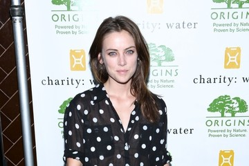 Jessica Stroup Celebs Arrive at the Charity Water Event