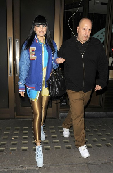 Jessie J - Singer Jessie J leaves All Star Lanes bowling alley and cocktail bar at 12.10am and stated she