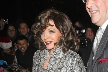 Joan Collins Celebs Leaving the Viva Forever Party