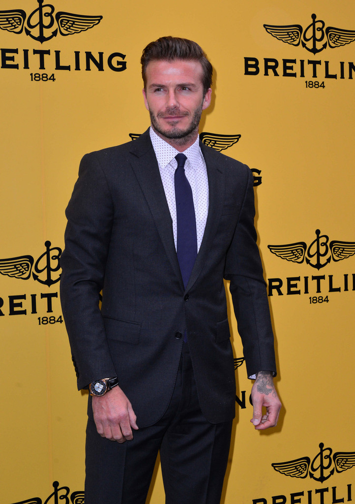 David beckham photos photos celebs at the breitling launch in london part 2 zimbio for Celebrity wearing breitling