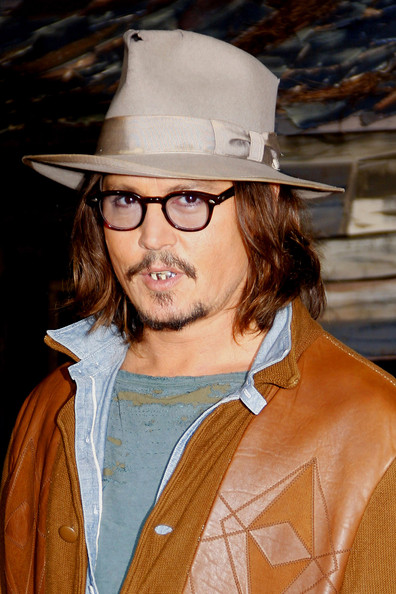 "Johnny Depp Johnny Depp at the Los Angeles premiere of ""Rango"" held at the Regency Village Theatre, Los Angeles."