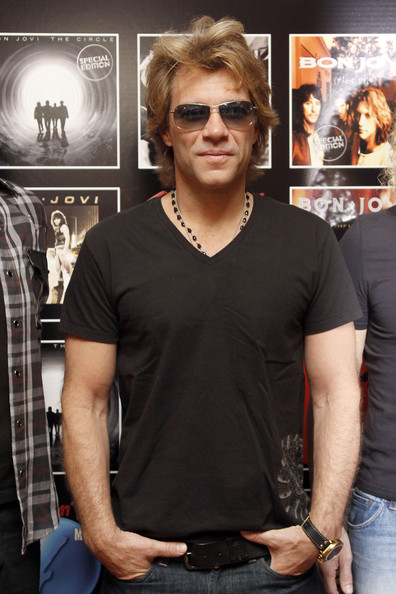 Jon Bon Jovi of rock band Bon 2011