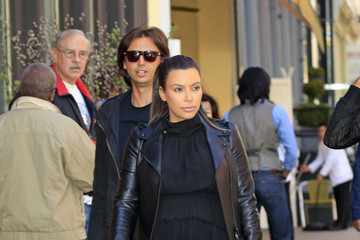 Jonathan Cheban Kim Kardashian and Jonathan Cheban in NYC 2