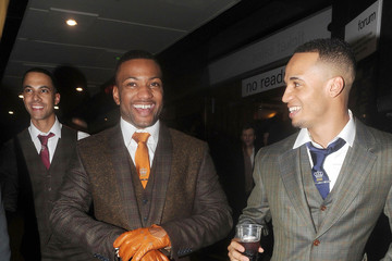 Jonathan Gill Marvin Humes Celebs Attend a Justin Timberlake Concert in London