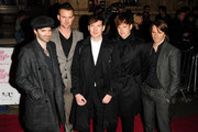 Ciaran Jeramiah, Paul Stewart, Dan Gillespie, Richard Jones and Kevin Jerimiah of group The Feeling, attend the 'The Prince's Trust Rock Gala 2011' in London.