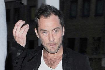 Jude Law Jude Law Spotted at The Shard