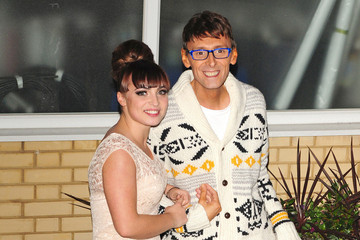 Johnny Robinson Tulisa Contostavlos and Others at 'X Factor'