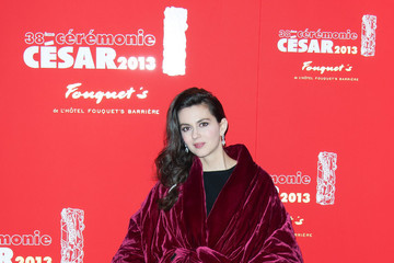Julia Faure Claudia Cardinale at the gala dinner following the 38th Cesar ceremony at Fouquet's restaurant in Paris