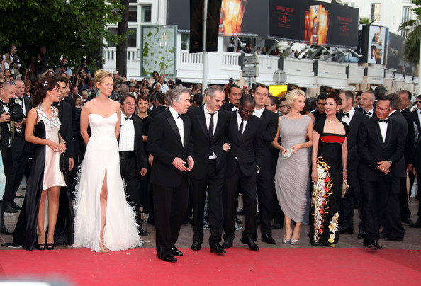 "The Jury at Cannes arrive at the premiere screening of ""Midnight in Paris"" on the opening night of the  64th Annual Cannes Film Festival."