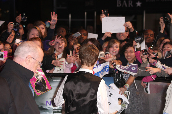justin bieber never say never premiere london. Premiere of #39;Never Say Never#39;