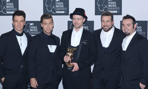 Justin timberlake and jc chasez photos photos press room at the press room at the mtv video music awards voltagebd Gallery