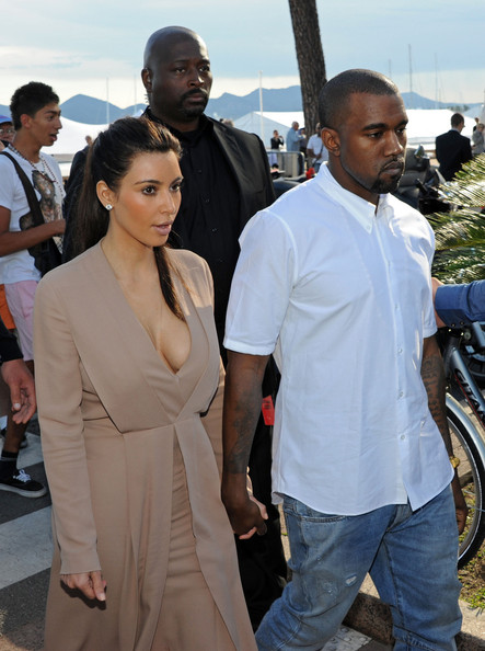 Kanye West - Kim Kardashian and Kanye West Together on Nikki Beach
