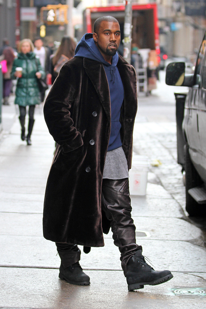 Kanye West Photos Photos Kanye West Out And About In Nyc