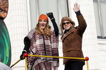 Karmin Celebrities Enjoy the Annual Macy's Thanksgiving Day Parade in New York City