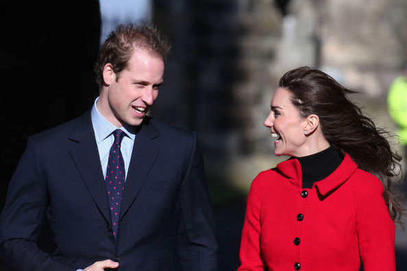 prince william and kate middleton at st. Kate Middleton Prince William