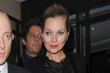 Kate Moss Kate Moss Leaves Her London Hotel