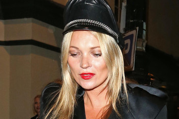 Kate Moss Celebs Out Late in London