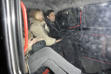 Kate Moss Kate Moss and Jamie Hince Dine Out 2