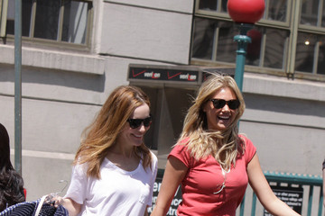 Kate Upton 'The Other Woman' Films in NYC 2
