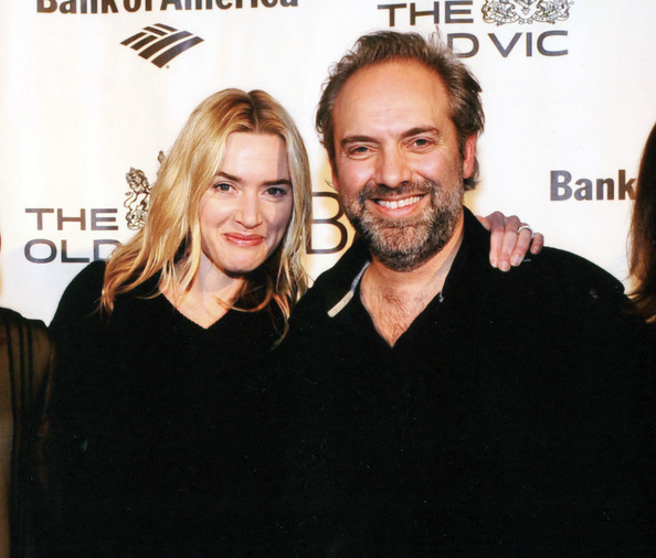 FILE PHOTO: Kate Winslet and Sam Mendes at the Brooklyn Academy of Music []