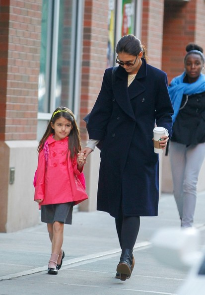 Katie Holmes and Suri Spotted in NYC