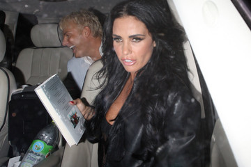 Katie Price Alex Reid Celebrities Leave Home House