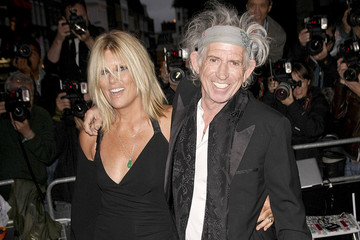 Keith Richards avec amicale, femme Patti Hansen