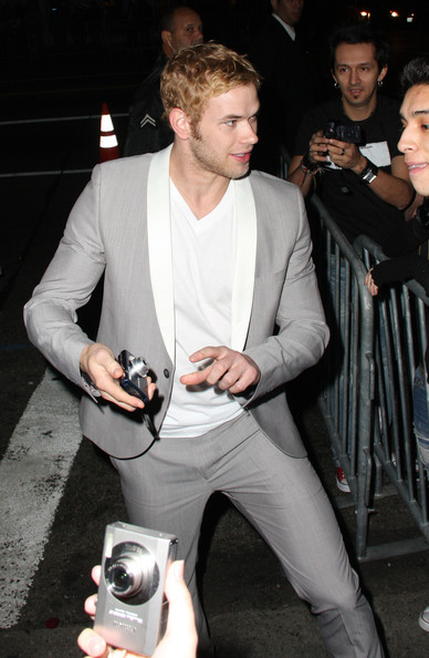 Kellan Lutz attends the premiere and afterparty for the move
