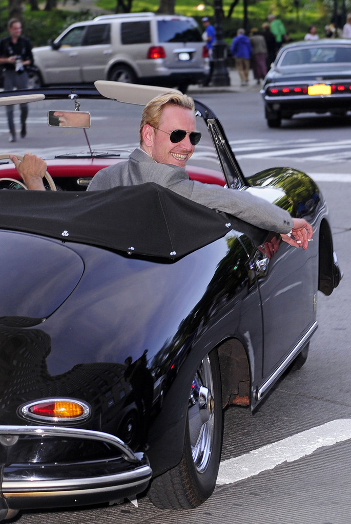 Michael Fassbender on his Porsche 356