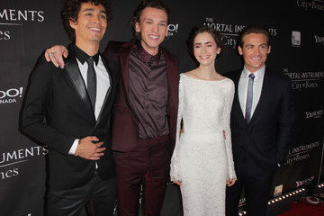 Kevin Zegers Jamie Campbell Bower 'The Mortal Instruments' Premieres in Toronto — Part 2
