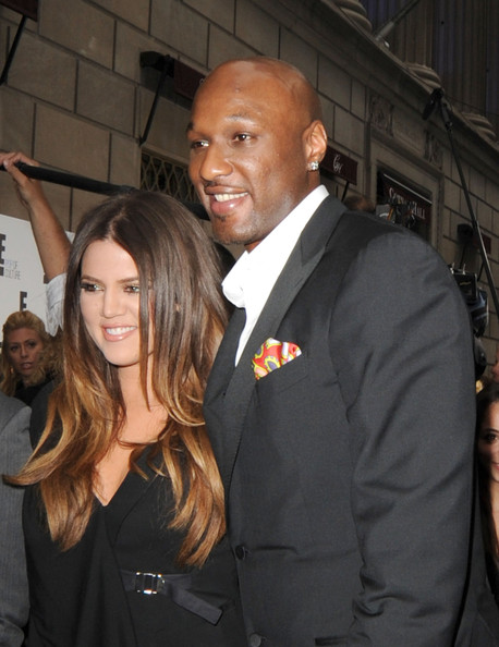 Khloe+Kardashian in Khloe Kardashian and Lamar Odom Dress Up in NYC