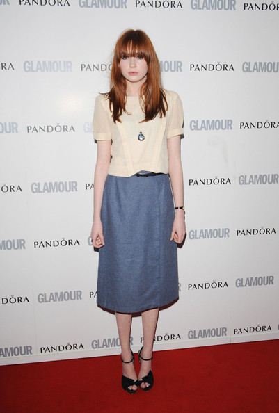 Karen+Gillan in The Women of the Year Glamour Awards at Berkeley Square in Central London