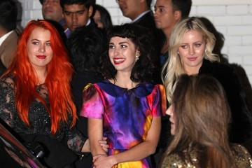 Kimbra Celebs Out After the Grammys