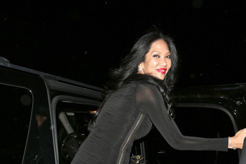Kimora Lee Simmons Kimora Lee Simmons Leaves BOA Steakhouse