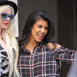 Kourtney Kardashian Shops in New York