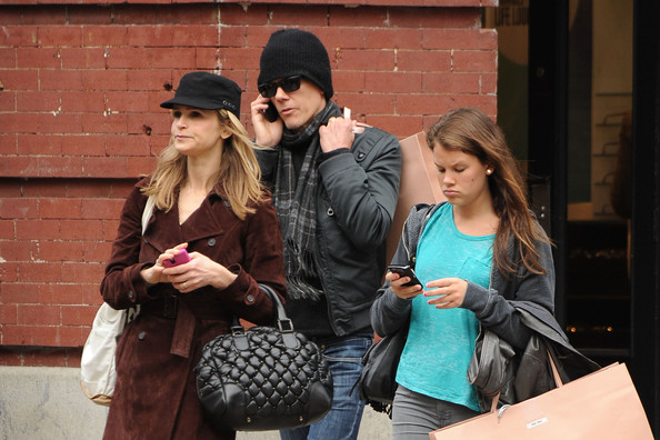 Kyra Sedgwick, Kevin Bacon, and Sosie Bacon in NYC - Zimbio
