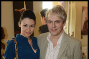 Duran Duran band Member Nick Rhodes with his girlfriend Nefer Suvio attend the National Youth Orchestra of The United States of America Reception at the The Royal Albert Hall hosted by Ronald O. Perelman in London.