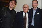 (L to R) Joshua Bell, Ronald O. Perelman and Nat Rothschild attend the National Youth Orchestra of The United States of America Reception at the The Royal Albert Hall hosted by Ronald O. Perelman in London.