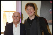 Ronald O. Perelman (L) with Joshua Bell, Grammy Award winning violinist, attend the National Youth Orchestra of The United States of America Reception at the The Royal Albert Hall hosted by Ronald O. Perelman in London.