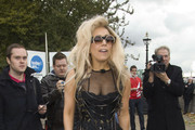 """Lady Gaga left her hotel via the garage and made her way over the London's River Thames to do an interview with American TV host Anderson Cooper. She spoke about her fame, music and constant attention from everyone. Quotes from the interview: """"To me, the greatest way to get to know me is on stage."""".""""My album is my Opus of Universal Identity, my fans have shared their deepest stories, their deepest wishes... their deepest secrets with me. I feel this album embraces their liberation and their future."""".""""Even though all these people are here. It's really nice to stand by the water."""