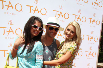 Laura Croft Celebs at TAO Beach